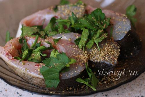 Рыбное меню: рыба в духовке