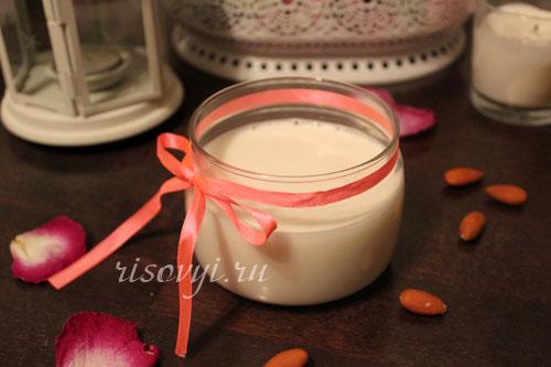 Миндальное молоко: рецепт