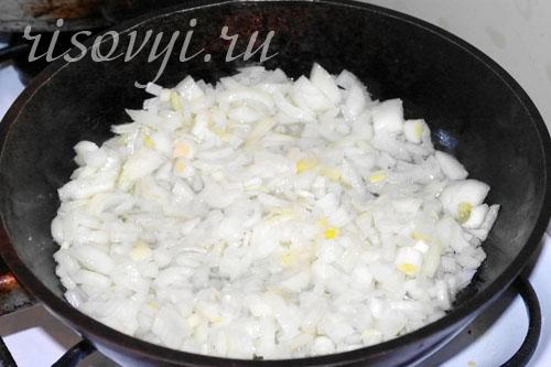 Блюдо из курицы и грибов в духовке