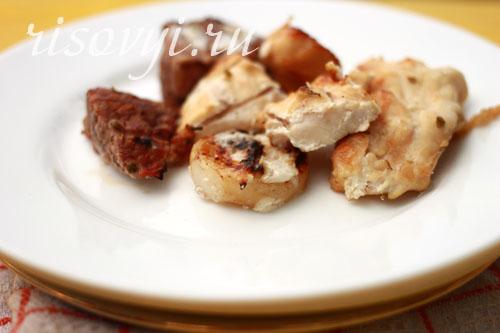 Шашлык из телятины: рецепт