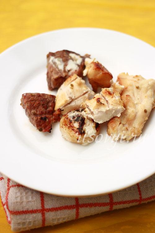Шашлык из телятины: маринад для шашлыка