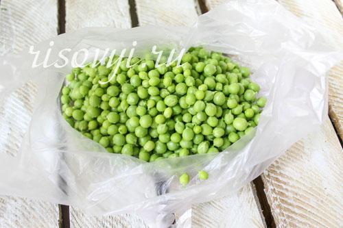 Как заморозить зеленый горошек на зиму