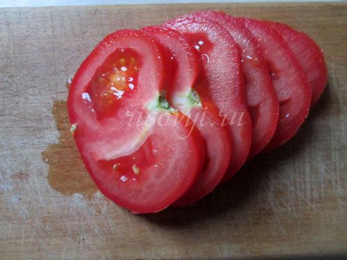 Как жарить яичницу с помидорами: рецепт с фото