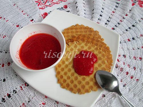 Вафли безглютеновые в вафельнице: рецепт