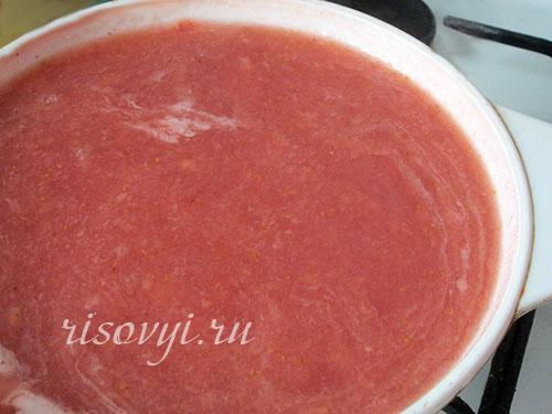Ягодный кисель: рецепт с фото