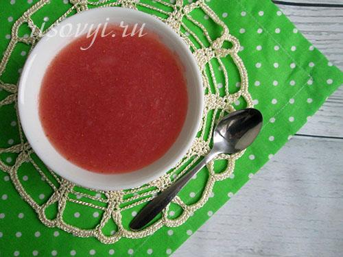 Традиционный ягодный кисель: рецепт