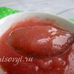 Кисель ягодный: рецепт из крахмала