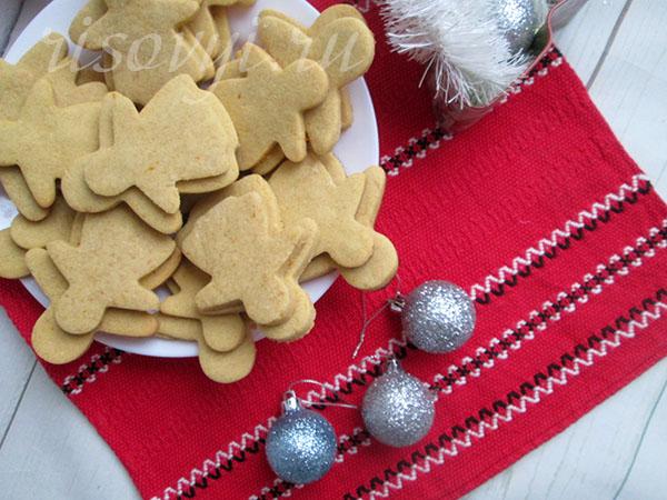Печенье песочное без глютена: рецепт