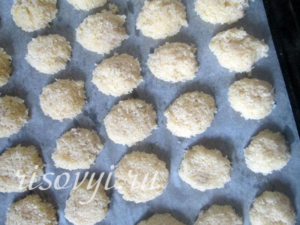 "Печенье ""Кокосанка"" в домашних условиях: рецепт"