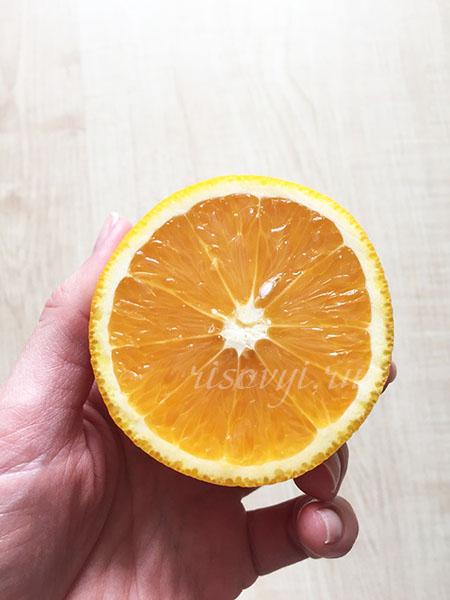 Добавляем в тесто сок апельсина