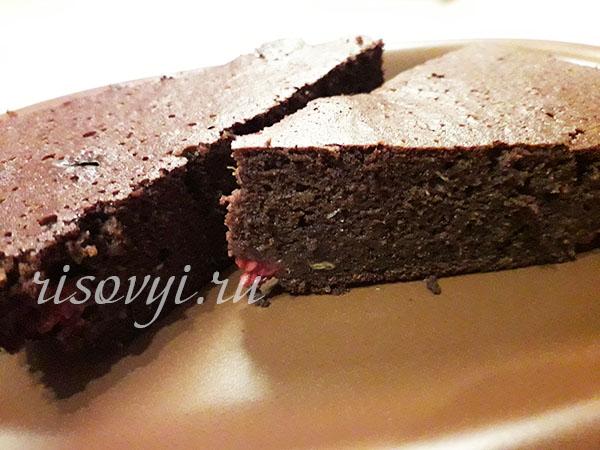 Рецепт брауни без глютена с какао