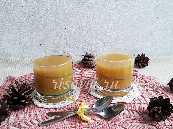 Кисель из тыквы: рецепт с фото пошагово