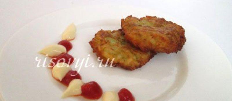 Кабачковые оладьи: рецепт с рисом