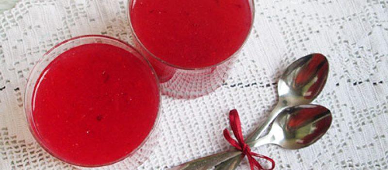 Рецепт киселя из замороженной клюквы
