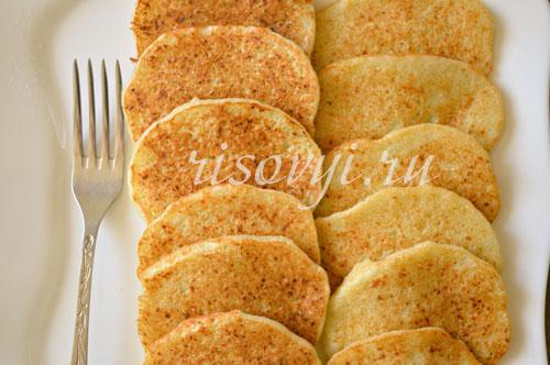 Оладьи из кабачков: рецепт с фото