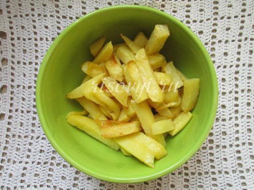 Как приготовить картошку фри