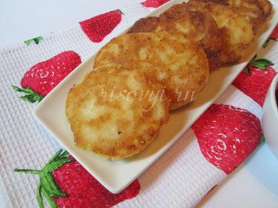 Безглютеновые сырники с рисовой мукой