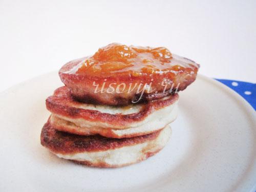 Банановые оладьи: рецепт с фото