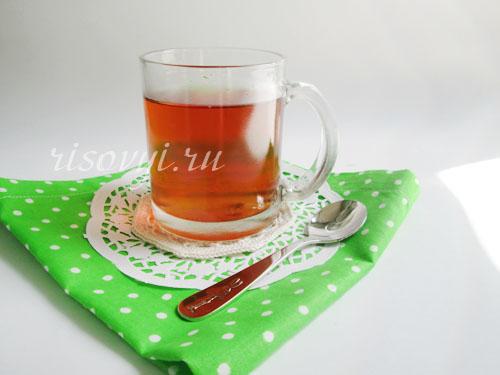 Ароматный клубничный чай