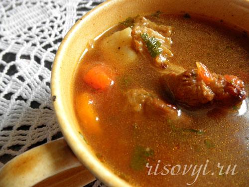Бограч: рецепт с фото